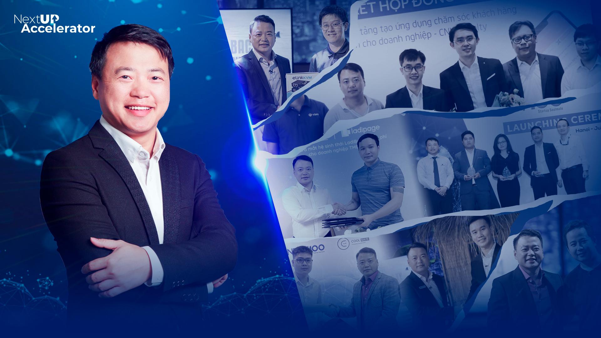 Tham gia chương trình huấn luyện khởi nghiệp NextUP Accelerator, startup có cơ hội được rót vốn tới 500.000 USD từ Next100 Ventures và các nhà đầu tư chiến lược.