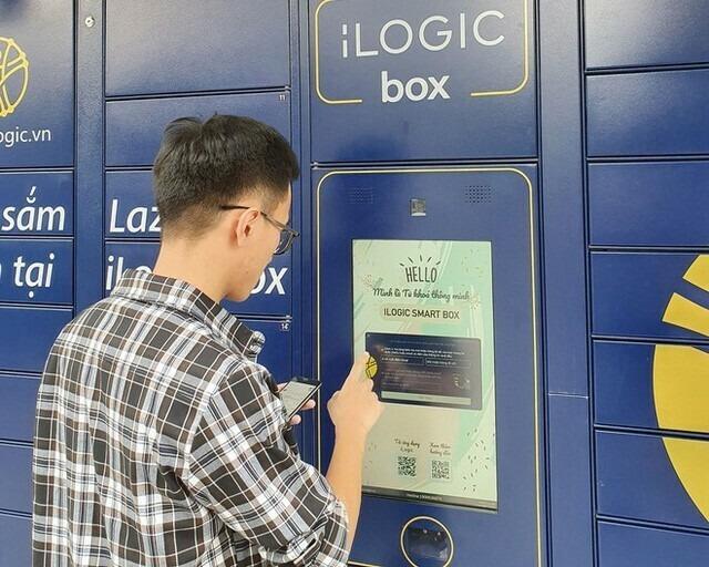 Lazada là sàn thương mại điện tử duy nhất tại Việt Nam hiện tại triển khai dịch vụ nhận hàng tự động qua tủ khóa thông minh. Ảnh: Lazada Việt Nam