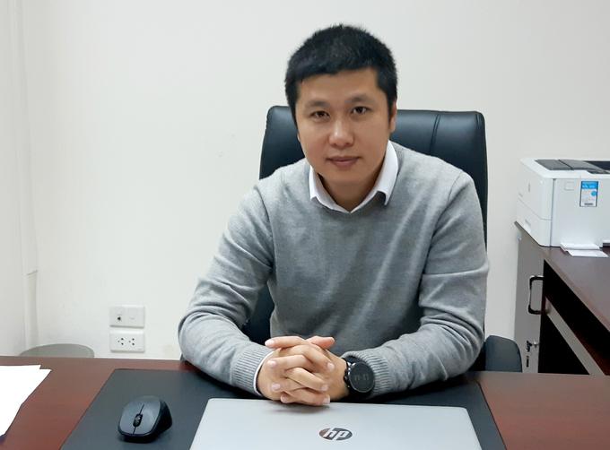 Chuyên gia tài chính Trần Nhật Nam. Ảnh: NVCC