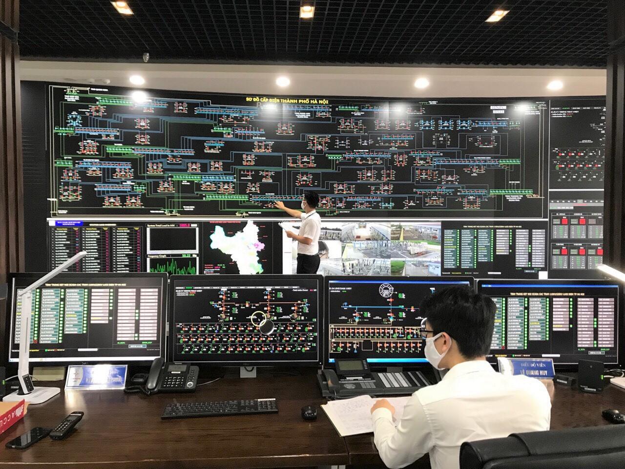 EVNHANOI đã hoàn thành số hóa công tác điều độ là bước đệm để xây dựng lưới điện thông minh.