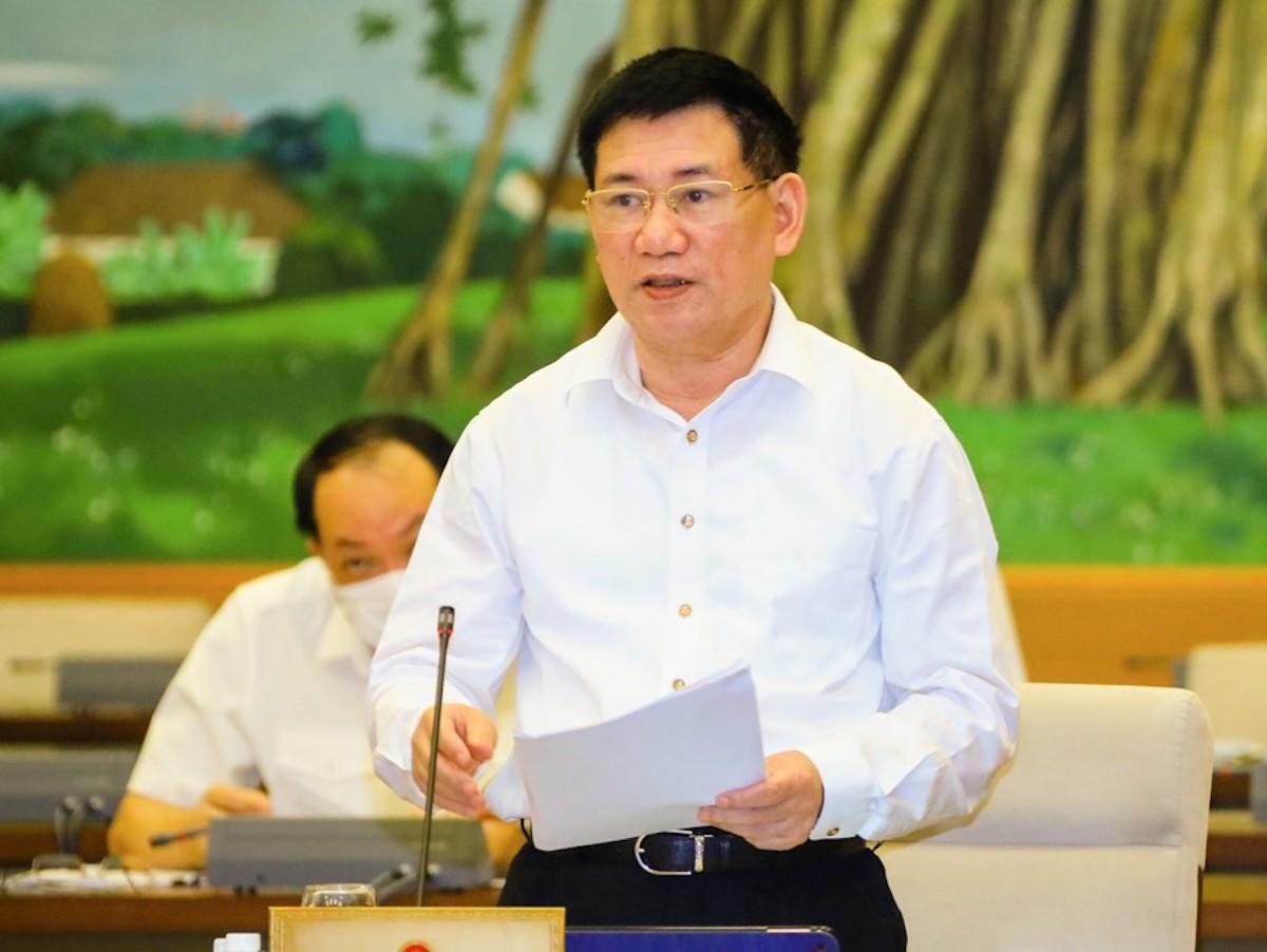 Bộ trưởng Tài chính Hồ Đức Phớc. Ảnh: Hoàng Phong