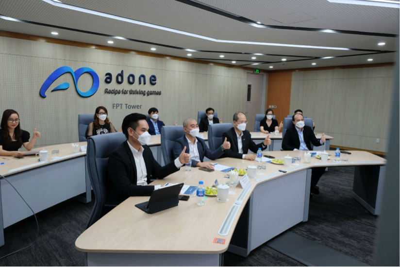 Buổi lễ ra mắt Công ty Cổ phần AdOne tại trụ sở chính – FPT Tower Hà Nội.