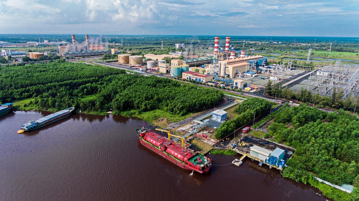 Nhà máy điện Cà Mau 1&2. Ảnh: PVN