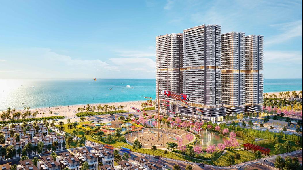 Khu đô thị biển Takashi Ocean Suite Kỳ Co là một trong những sản phẩm bất động sản biển đang được triển khai tại Quy Nhơn.