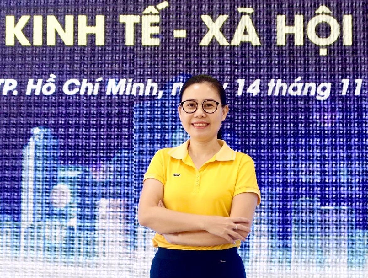 Bà Phạm Thị Thanh Xuân - giảng viên Đại học Kinh tế - Luật TP HCM. Ảnh nhân vật cung cấp