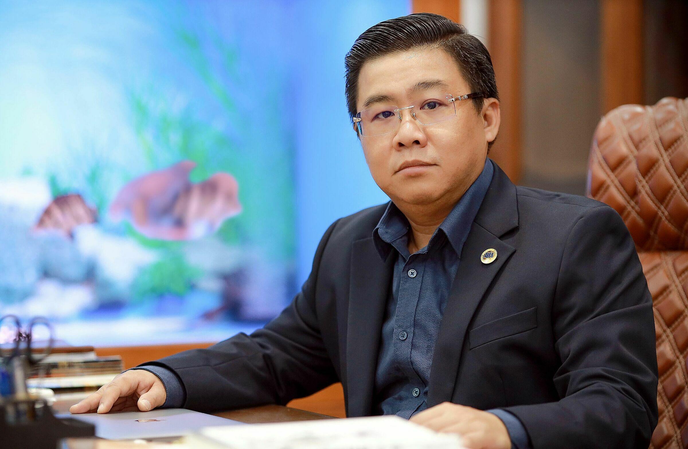 PGS. TS Nguyễn Khắc Quốc Bảo - Viện trưởng Viện Công nghệ tài chính, Đại học Kinh Tế TP HCM. Ảnh: NVCC