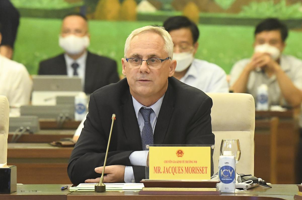 Ông Jacques Morisset - chuyên gia kinh tế trưởng WB. Ảnh: Hoàng Phong