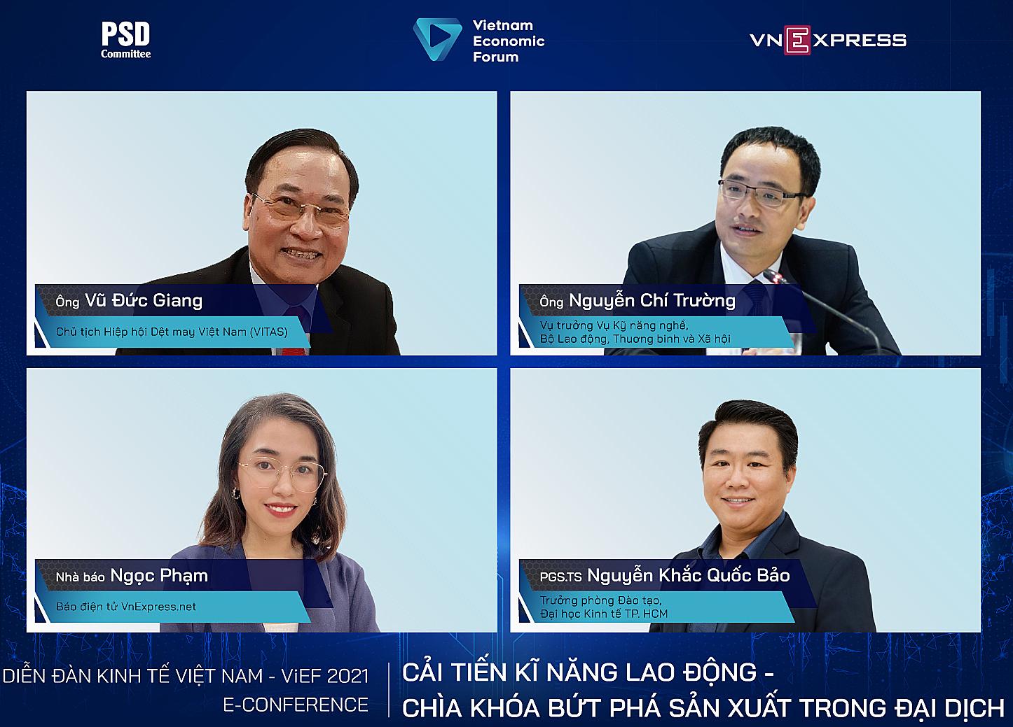 Các diễn giả tham gia tọa đàm lúc 9h ngày 28/9, trực tiếp trên VnExpress.