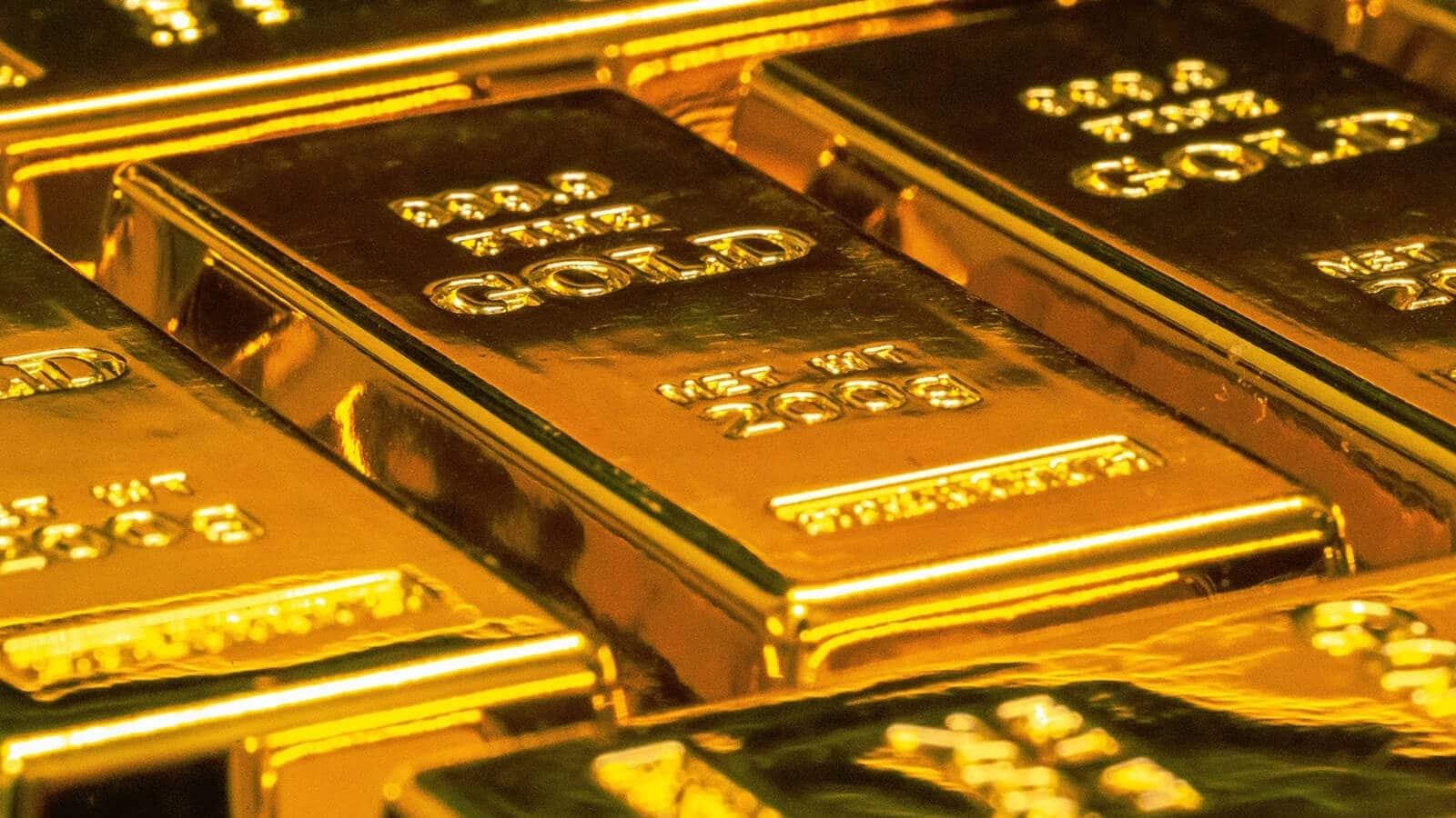 Giá vàng quốc tế giảm. Ảnh: Marketshockers