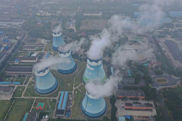 Một nhà máy nhiệt điện than ở tỉnh Giang Tô, Trung Quốc. Ảnh: Zuma Press