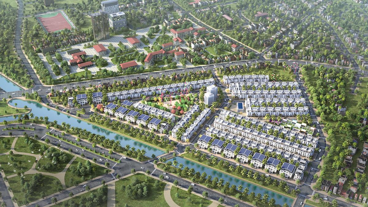Phối cảnh dự án TNR Stars Đồng Hới, Quảng Bình.