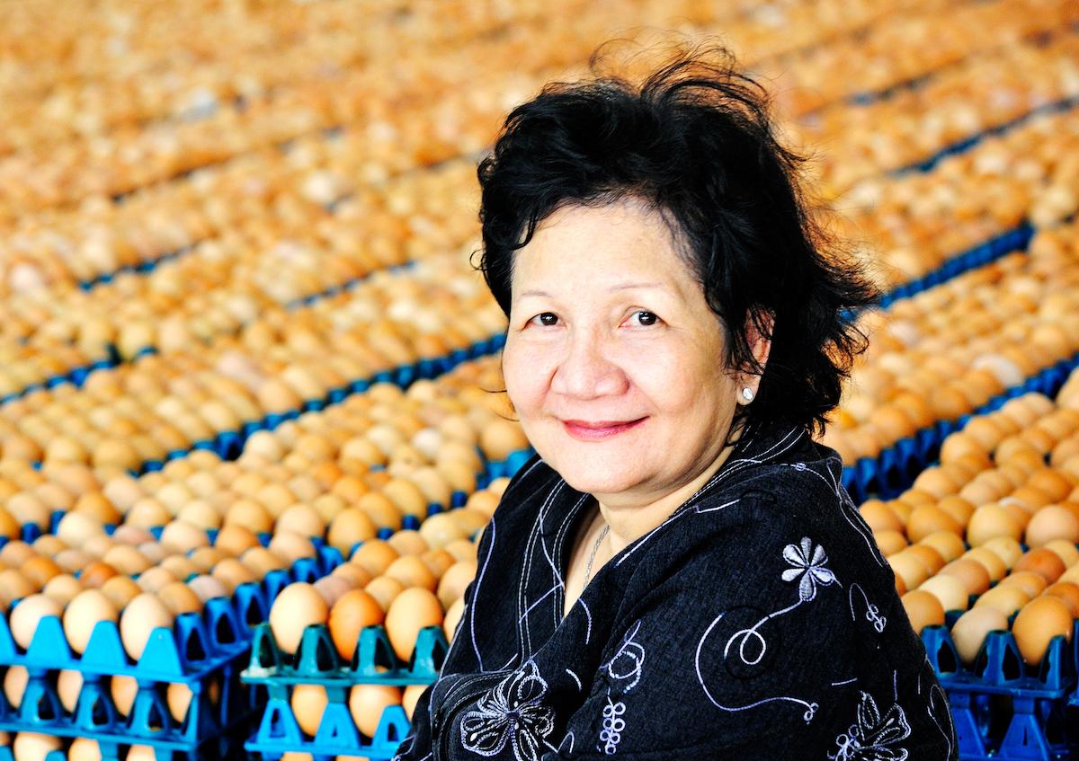Bà Phạm Thị Huân - Chủ tịch Công ty Ba Huân.