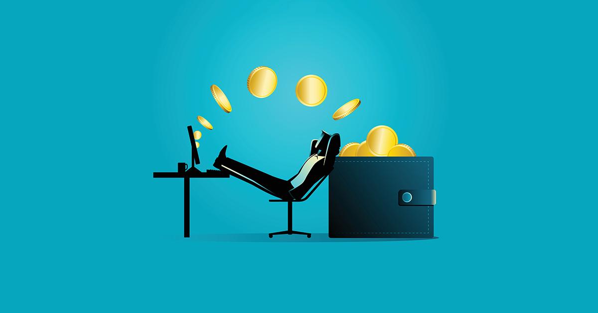 Nếu có một nguồn thu thụ động sớm, bạn sẽ sớm tự do tài chính. Ảnh: Crypto Pro.