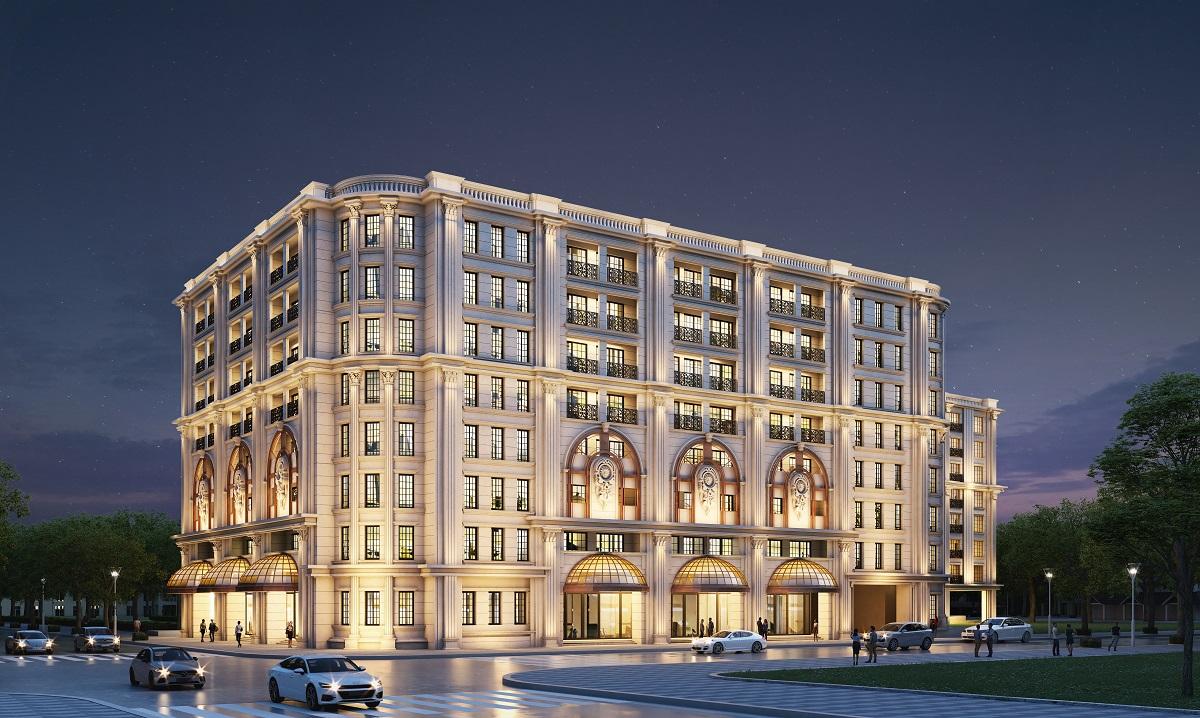Khu căn hộ hàng hiệu Ritz-Carlton tại The Grand nằm ở trung tâm của quận Hoàn Kiếm