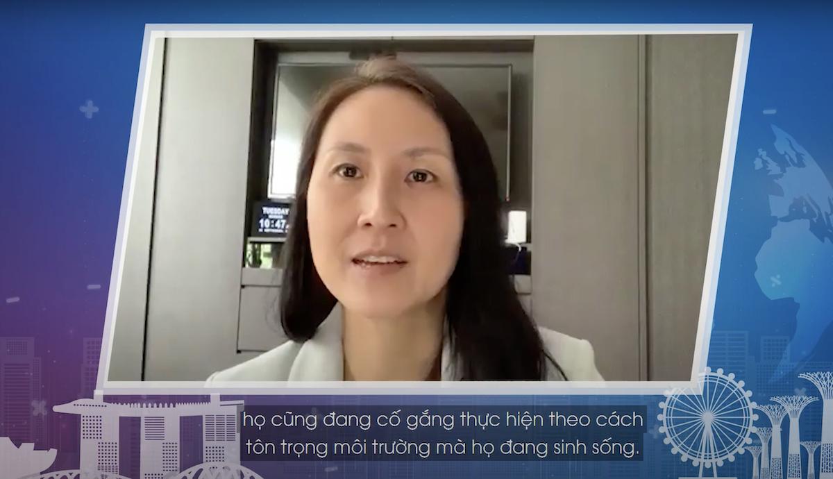 Bà Jeannie Lim, Tổng Cục phó phụ trách Khối Chính sách và Kế hoạch thuộc Tổng Cục Du lịch Singapore