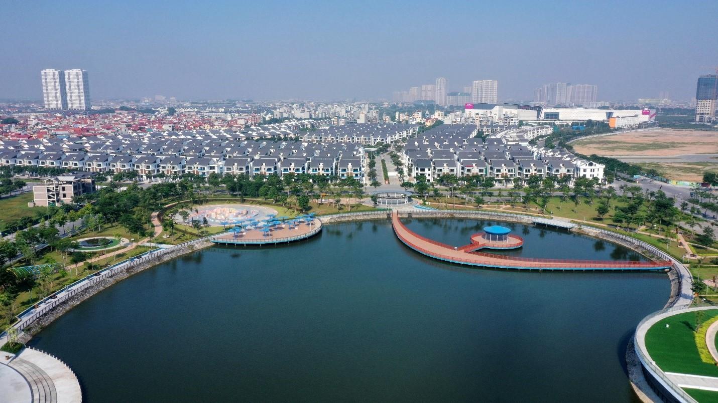 Khu đô thị Dương Nội hưởng lợi từ đường Lê Quang Đạo kéo dài. Ảnh???