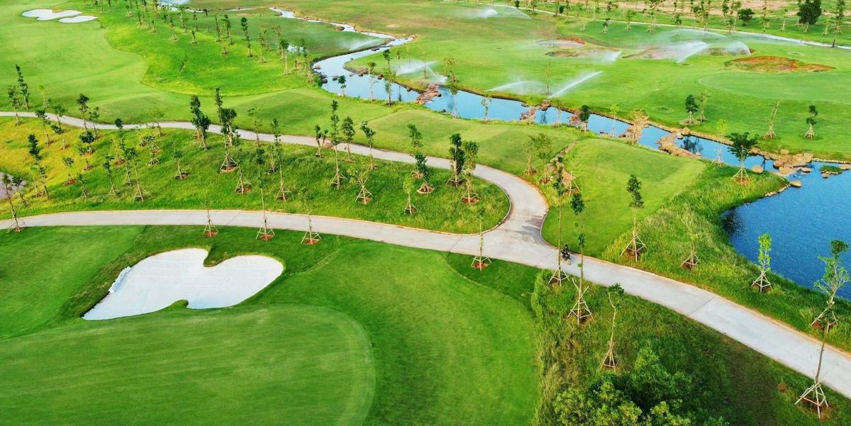 Sân Golf PGA Garden thuộc cụm sân Golf PGA độc quyền 36 hố tại NovaWorld Phan Thiet dự kiến đưa vào vận hành trong quý IV.