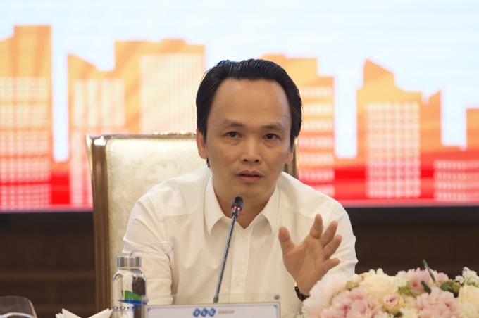 Ông Trịnh Văn Quyết, Chủ tịch HĐQT Tập đoàn FLC. Ảnh: Phạm Chiểu