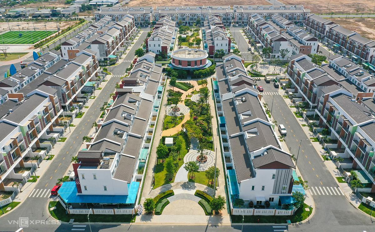 Một dự án bất động sản tại Bình Dương. Ảnh: Quỳnh Trần