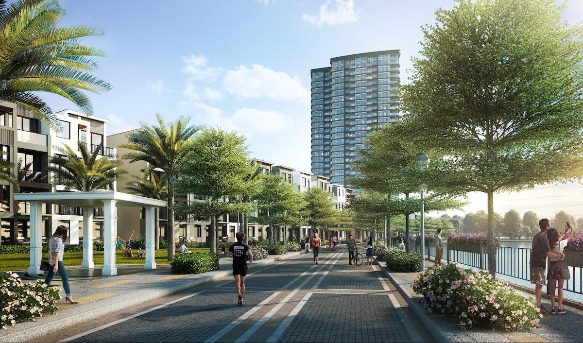 Không gian sống xanh kết hợp với mô hình thành phố thông minh đến từ Qualcomm của The 9 Stellars