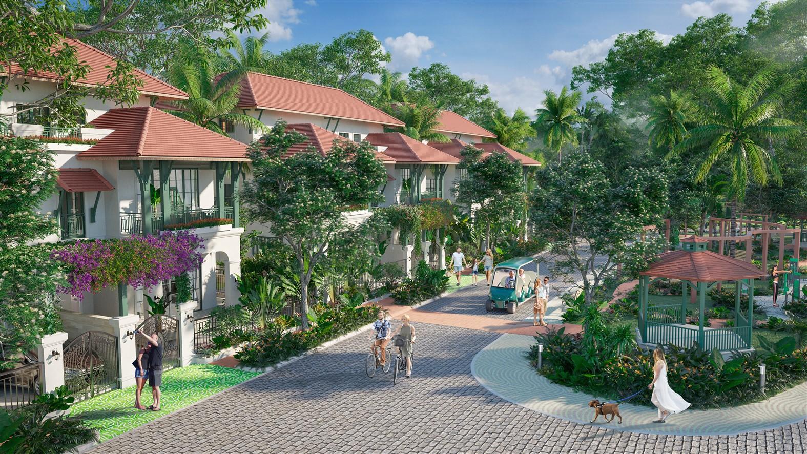 Tropical Park đem đến chuẩn mực của lối sống wellness living.