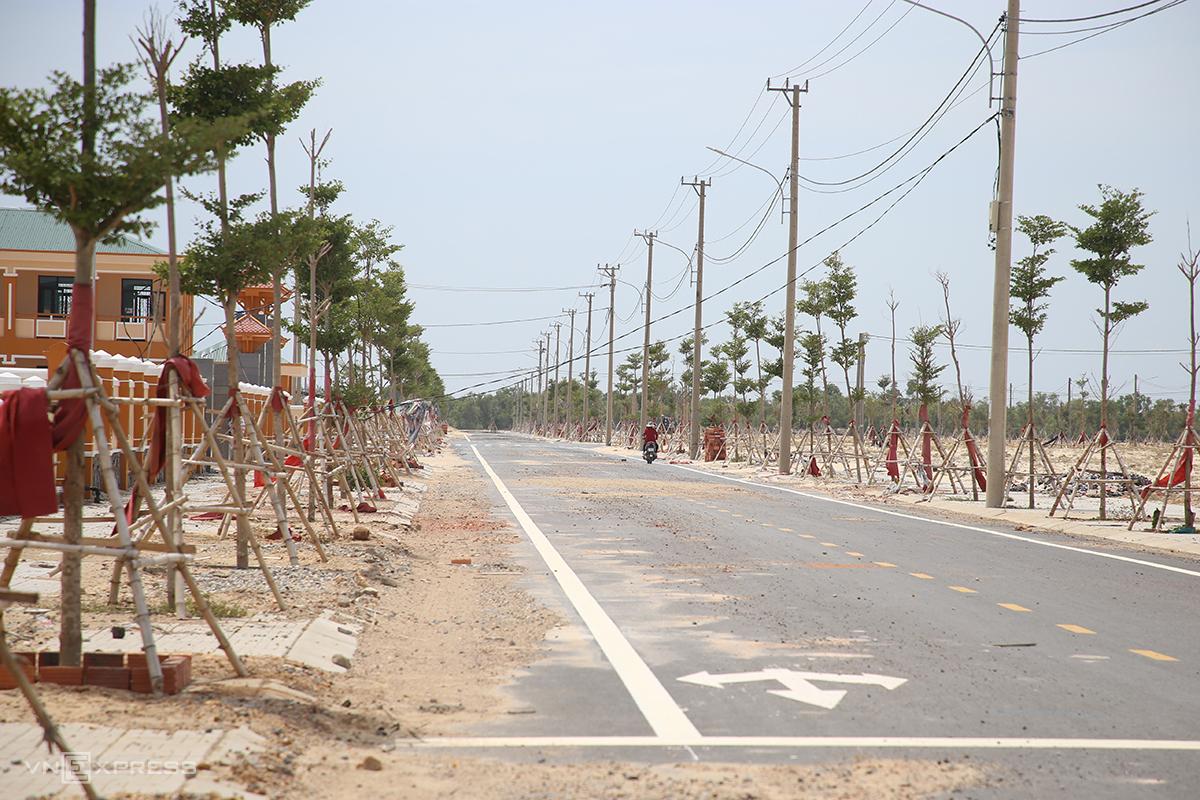 Khu kinh tế Đông Nam, nơi thực hiện dự án Trung tâm điện khí LNG Hải Lăng. Ảnh: Quang Hà