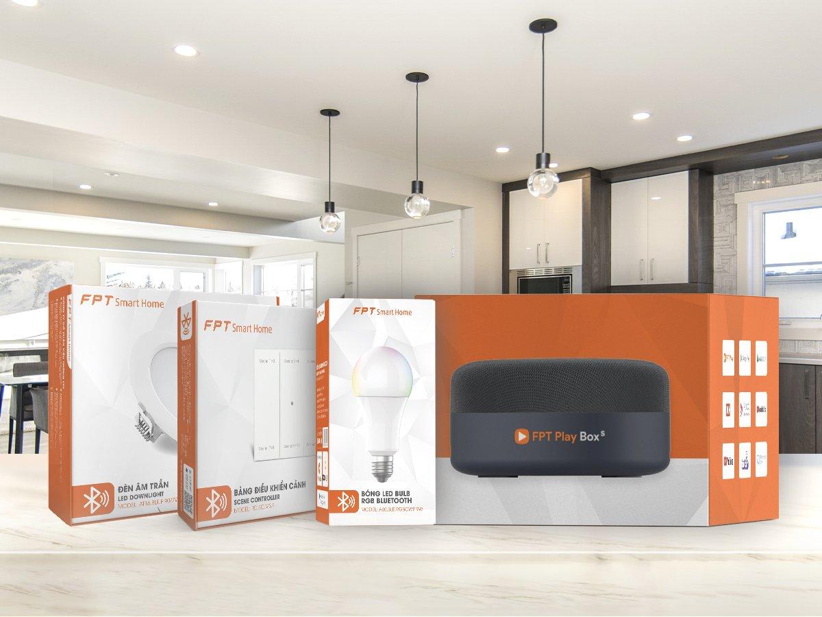 Bộ thiết bị đi kèm giải pháp FPT Smart Home do FPT Telecom cung cấp. Ảnh: Nguồn