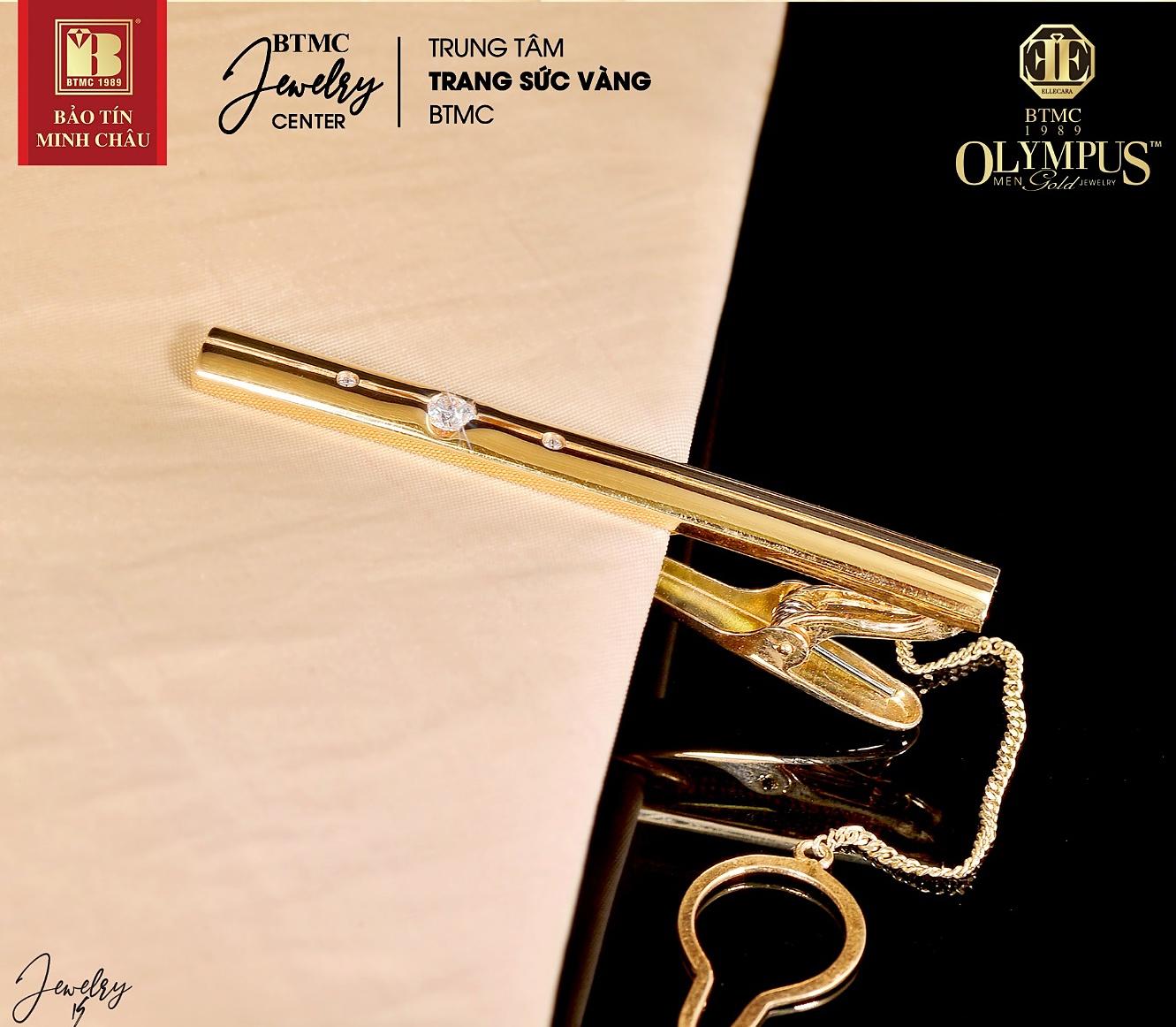 Kẹp Cavat vàng 18k– điểm nhấn sang trọng nâng tầm phong cách cho quý ông.