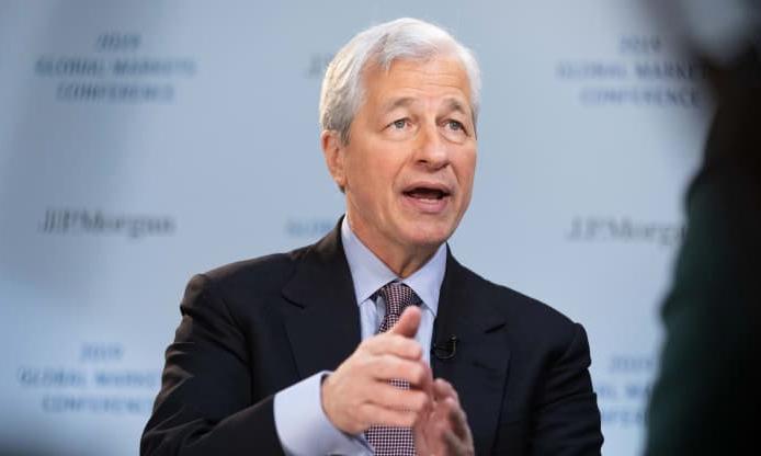 Ông Jamie Dimon, Chủ tịch, kiêm CEO JPMorgan. Ảnh: Bloomberg