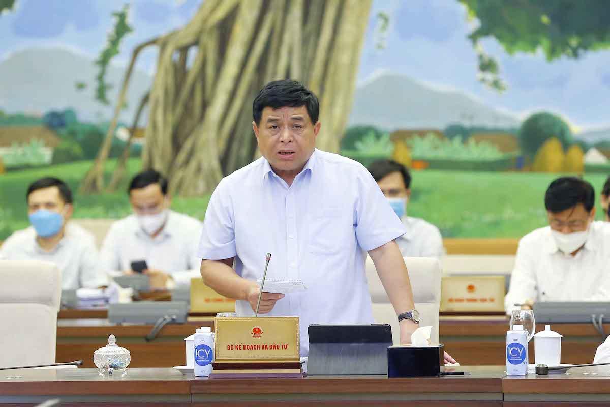 Ông Nguyễn Chí Dũng, Bộ trưởng Kế hoạch & Đầu tư. Ảnh: Hoàng Phong