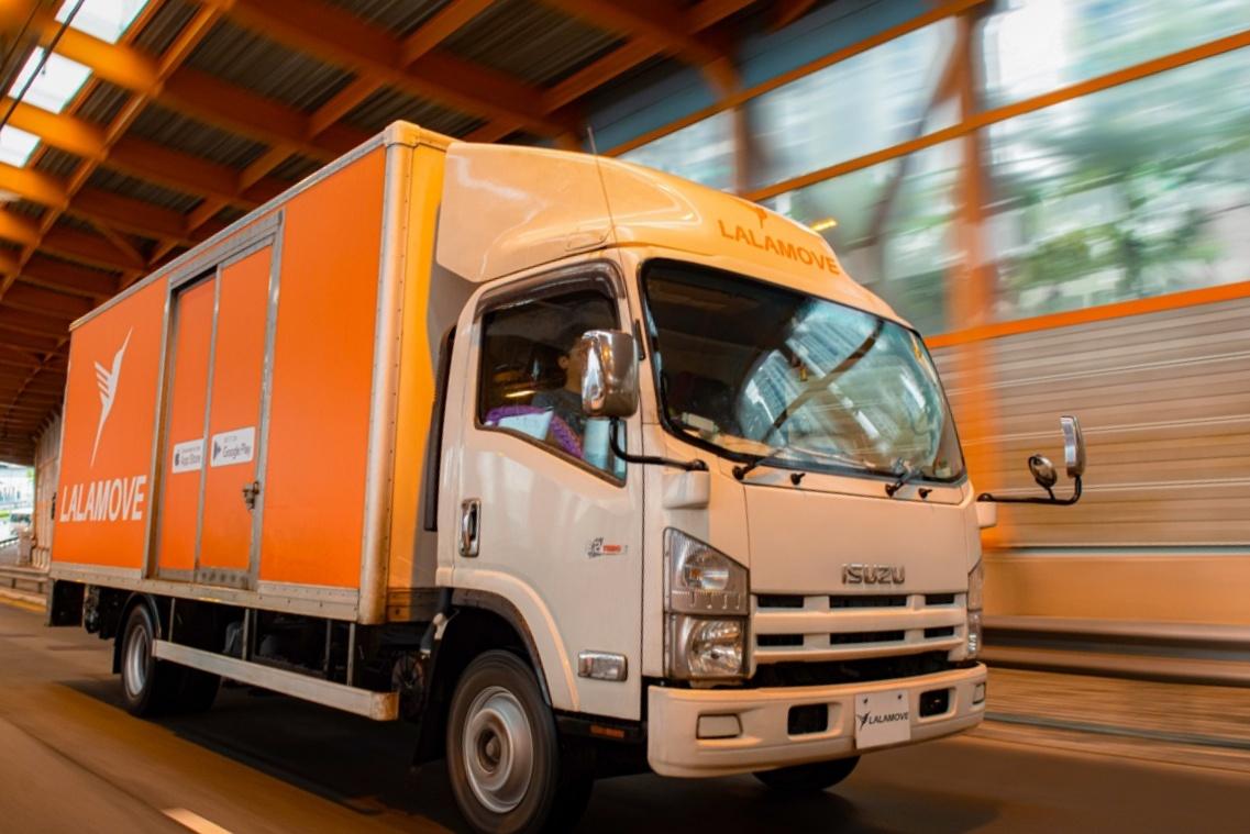 Người dùng có thể chọn giao hàng bằng xe tải nếu đơn vượt tải trọng hai tấn.