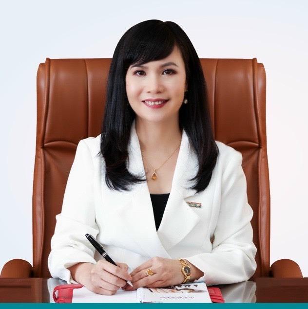 Bà Trần Tuấn Anh. Ảnh ngân hàng cung cấp