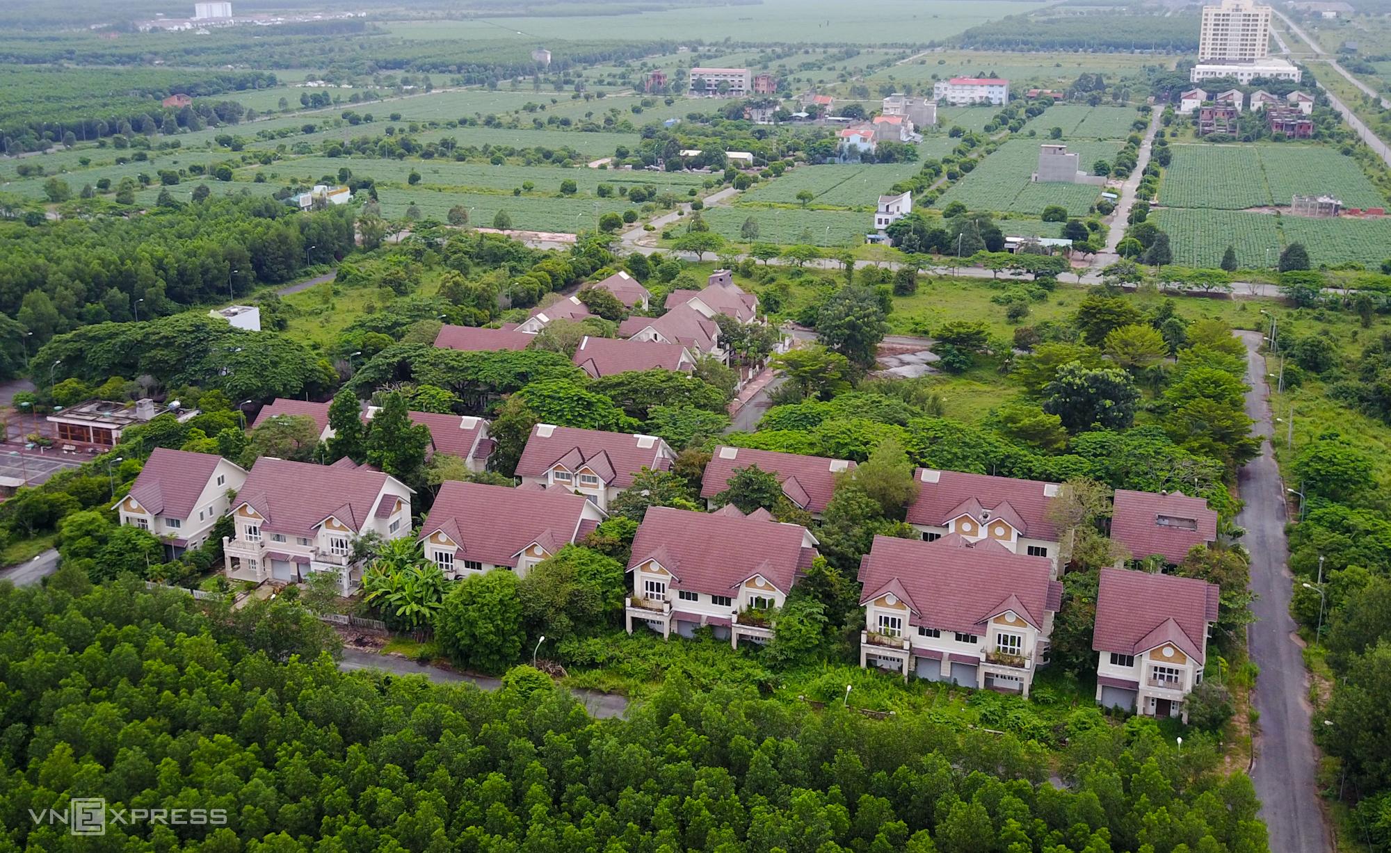 Một dự án bất động sản tại Đồng Nai. Ảnh: Quỳnh Trần