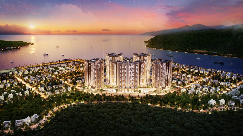 Phối cảnh dự án New Galaxy Nha Trang. Ảnh: Hưng Thịnh Land