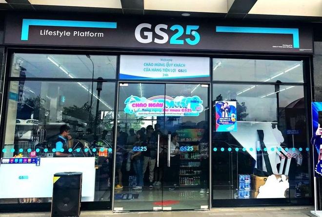 Chuỗi cửa hàng tiện lợi GS25 được thiết kế với phong cách hiện đại.