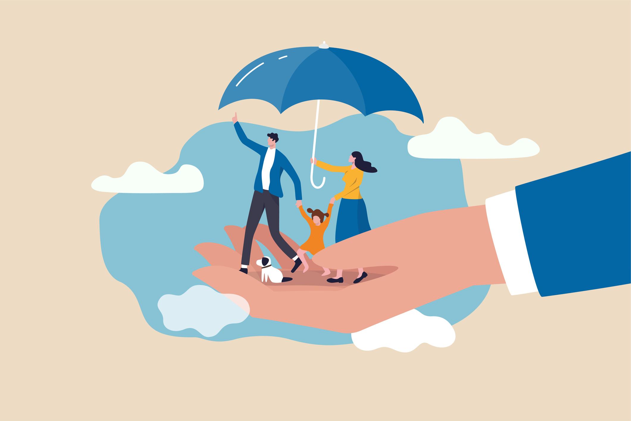 Tham gia bảo hiểm nhân thọ lâu dài giúp bạn bảo vệ bản thân, đạt được mục tiêu tài chính. Ảnh: metro.co.uk.