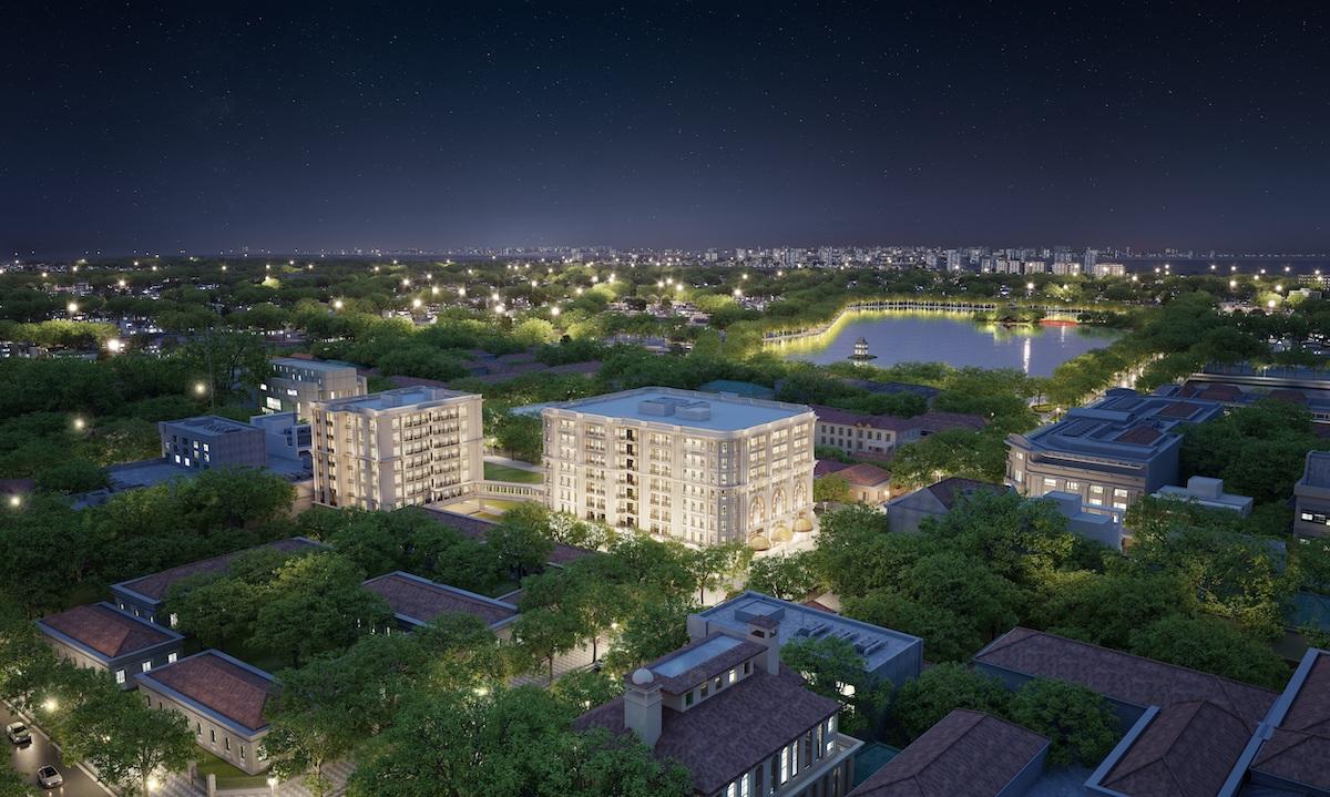 Masterise Homes và Marriott International công bố thỏa thuận ra mắt dự án khu căn hộ hàng hiệu Ritz-Carlton đầu tiên tại Việt Nam, tọa lạc trên phố Hàng Bài, Hà Nội.